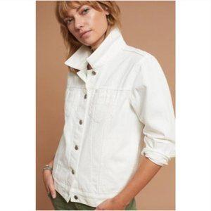 Pilcro & the Letterpress   White Boyfriend Jacket